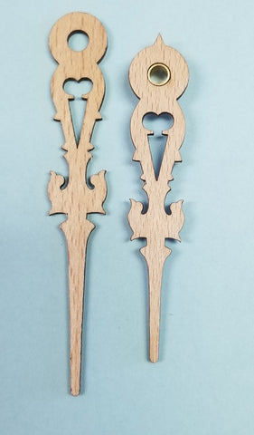 .Regula Wooden Hands 3 1/4""