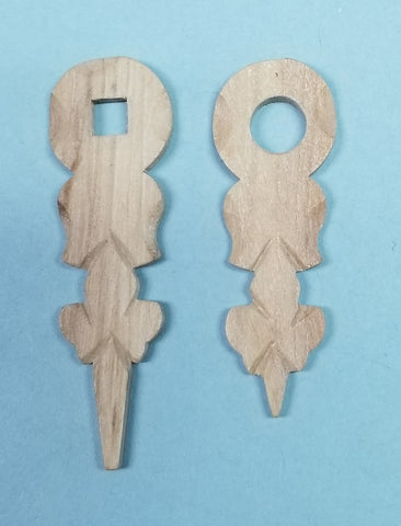 Herr Wooden Hands 1 1/2""