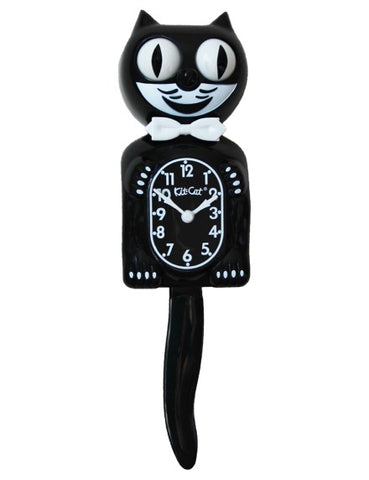 Classic Black Kit Cat Clock