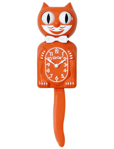 BC-43 Pumpkin Delight Kit Cat Clock