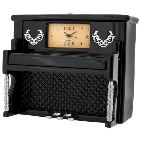 Upright Piano Miniature Clock