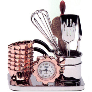 Kitchen Tools Miniature Clock
