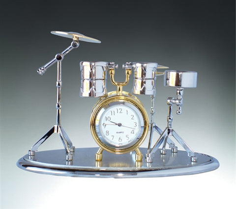 Full Drum Set Clock