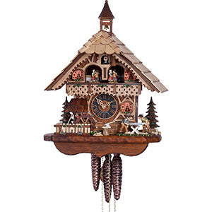 KU6258M - 1 Day Musical Chalet w/ Sawers & Waterwheel