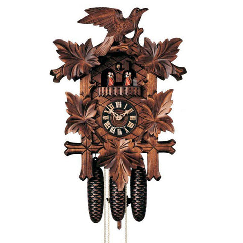 KU8004M - 8 Day Musical 5 Leaf Cuckoo Clock
