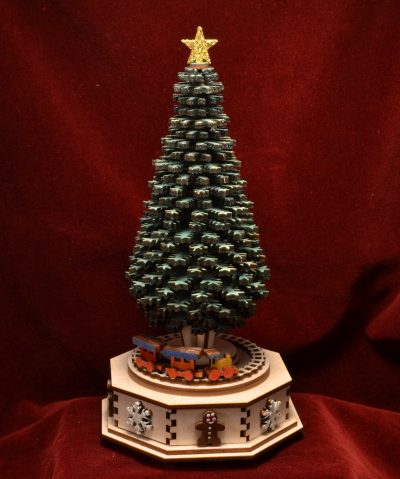 The Christmas Tree Music Box