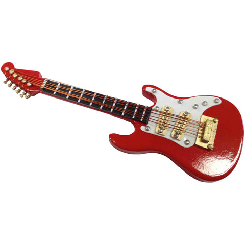 Red & White Guitar Magnet