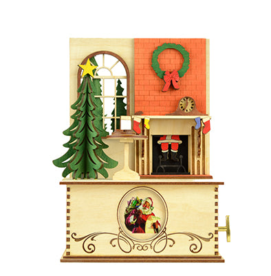 The Night Before Christmas Music Box