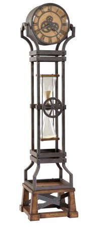 615-074 - Hourglass Floor Clock