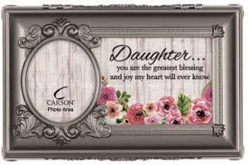 "Carson Music Box ""Daughter Heart"""