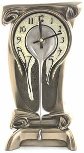 Art Nouveau Melting Clock