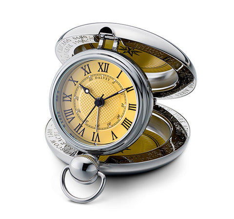 Voyager Clock - Yellow Dial