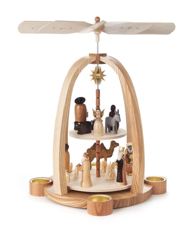 Pyramid 2 Tier Nativity