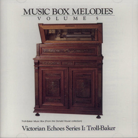 Music Box Melodies CD Volume 5
