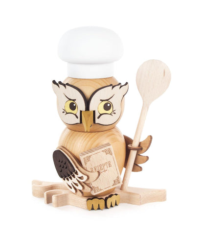 Smoker - Owl Chef w/ Spoon & Cookbook