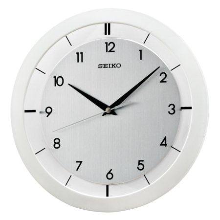 Seiko Quartz Wall Clock w/ Arabic Numbers