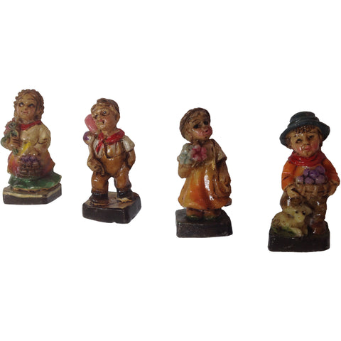 Resin Dancers Set 1-3/8""