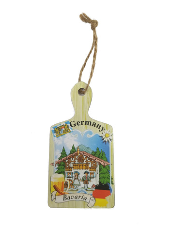 Wooden Germany/Bavaria Magnet