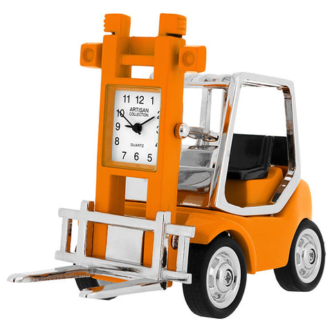 Forklift Miniature Clock