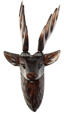 "Deer Head 2-3/8"" - #2 Size (55mm)"