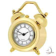 Twin Bell Miniature Clock