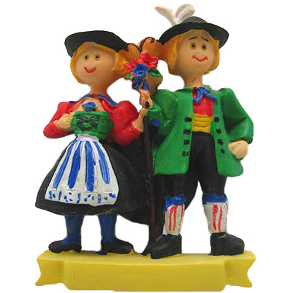 German Couple Magnet