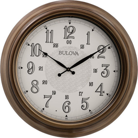 Key West Indoor/Outdoor Lighted Clock