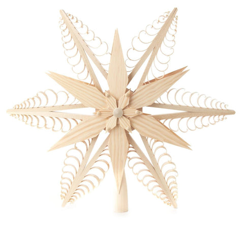 Tree Top - Wooden Star