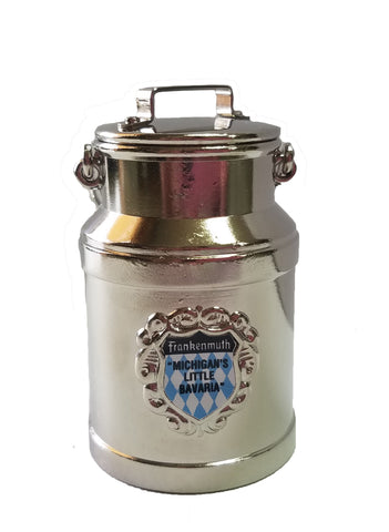 Milk Can Souvenir w/ Frankenmuth Shield