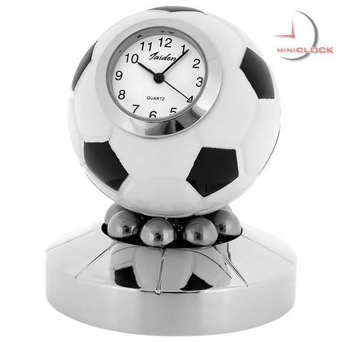 Soccer Ball Miniature Clock