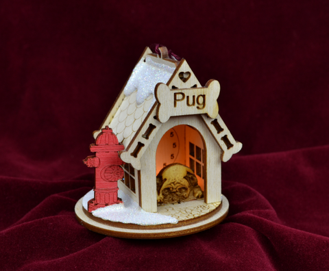 Pug K9 Ginger Cottage