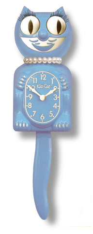 Kit Cat Lady Clock Serenity Blue