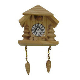 Natural Cuckoo Clock Magnet