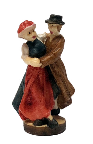 Wooden Couple Deluxe 1-5/8""