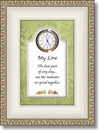 My Love Table Top Clock