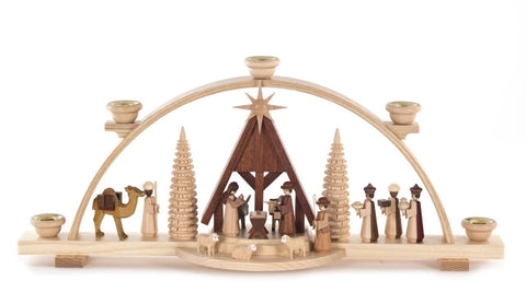Candle Arch -  Nativity Scene