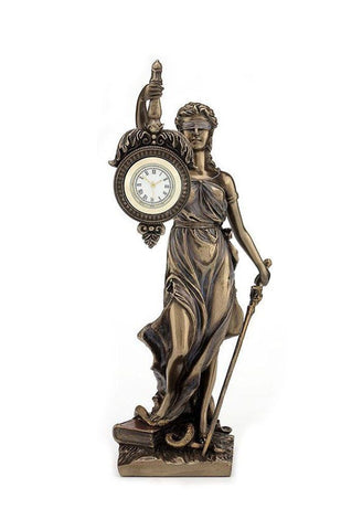 La Justica Table Clock