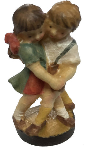 Resin Bavarian Boy & Girl Dancer Figure