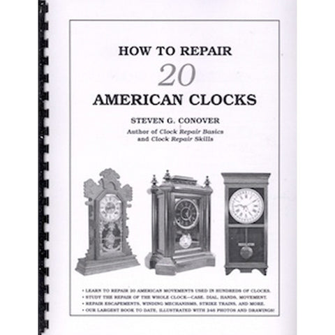 Repair 20 American Clocks