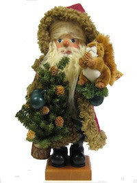 Nutcracker - Santa with Squirrel