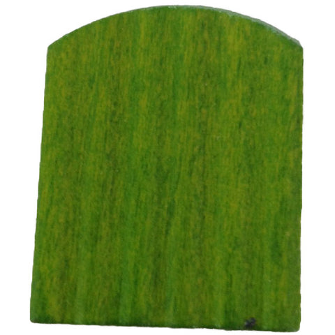 Cuckoo Door Green 24mmx34mm