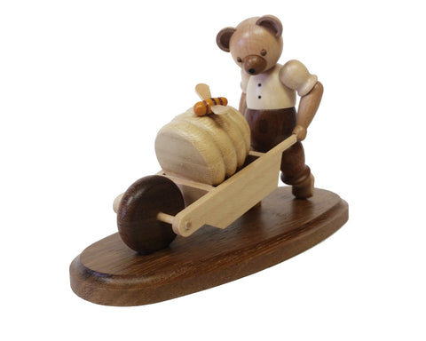 45184 - Bear with Wheelbarrow