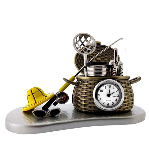 Fishing Reel Clock