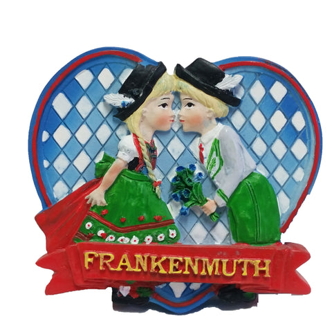 German Kiss Magnet w/Frankenmuth