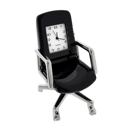 Office Chair Miniature Clock