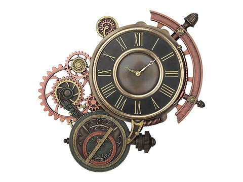 Steampunk Astrolabe Wall Clock