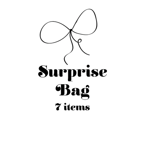 Surprise bag, 7 items