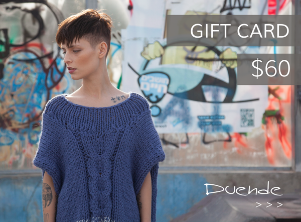 Duende Fashion Gift Card- $60 - DuendeFashion