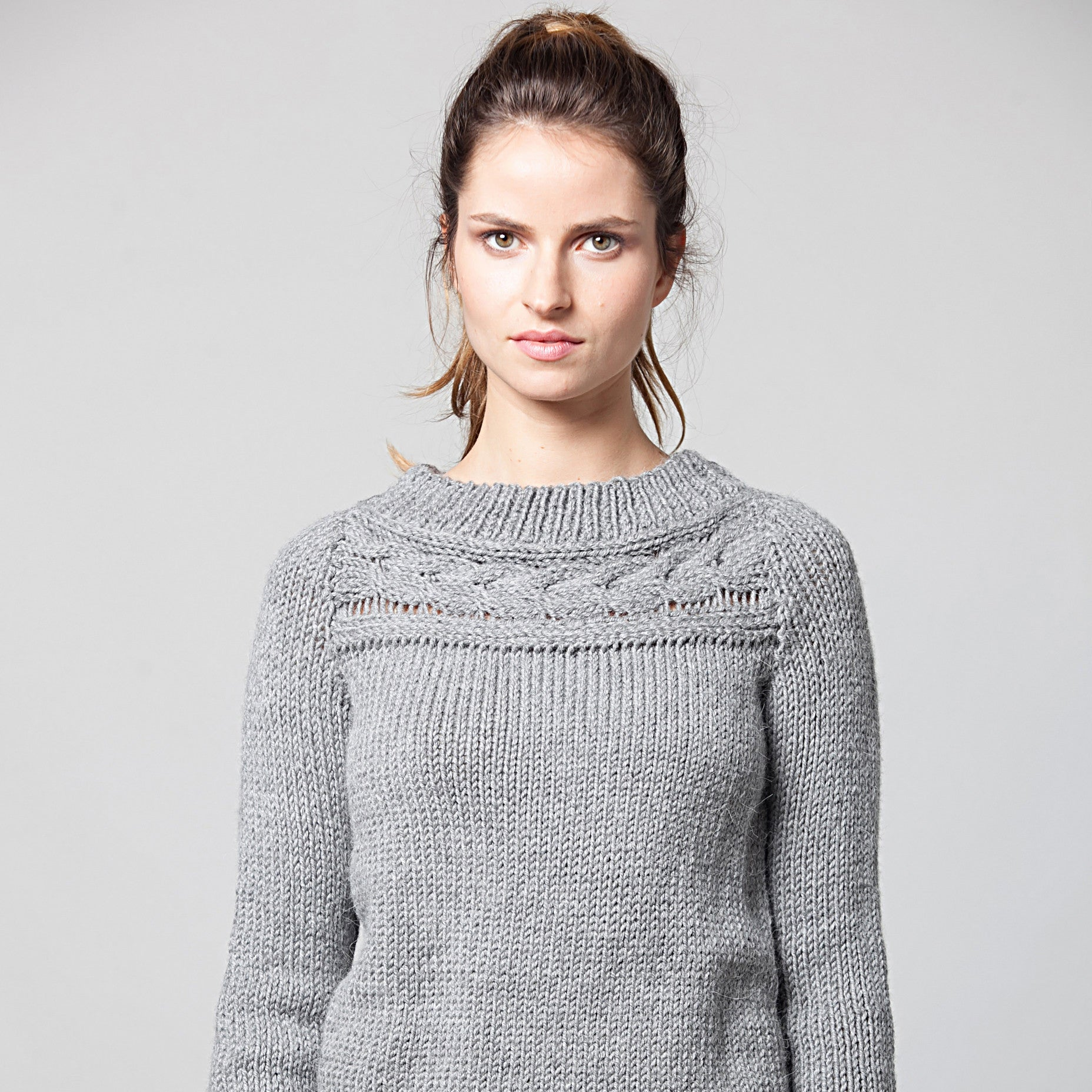 Alpaca tunic sweater - DuendeFashion  - 5