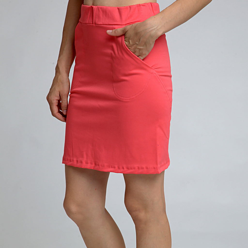 Cotton Skirt - DuendeFashion  - 1